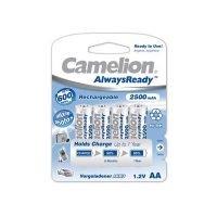 Camelion 'AlwaysReady' AA 4 Pack
