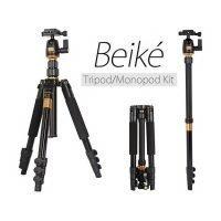 Beike Q-555 Professional Travel Tripod with Monopod