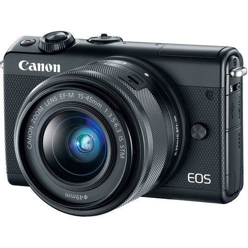 CANON EOS M100 with 15-45mm Lens Black