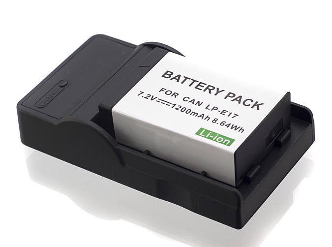 Generic Canon LP-E17 Battery and Quality USB Charger Bundle