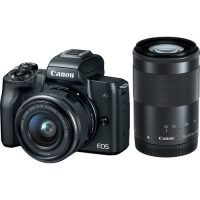 Canon EOS M50 Mirrorless Camera Twin Lens Kit
