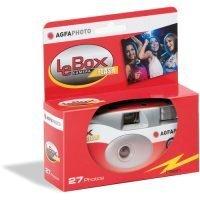 AgfaPhoto LeBox Flash 35mm Disposable Camera (27 Exposures)