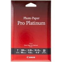 """Canon 6x4"""" Pro Platinum 300gsm Photo Paper - 20 Sheets"""
