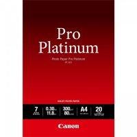 Canon A4 Pro Platinum 300gsm Photo Paper - 20 Sheets