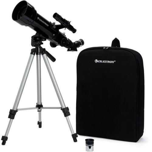 Celestron Travel Scope 70mm f5.7 AZ Refractor Telescope Kit 1